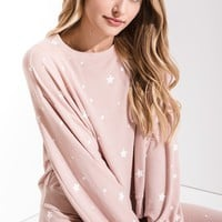 Luxe Star Pullover