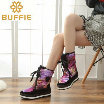 Shoes Women Waterproof Snow boots Women winter Boots hot selling Brand style boots warm winter boots high quality free shipping