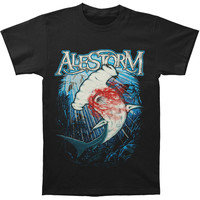 Alestorm Men's  Walk The Plank T-shirt Black Rockabilia