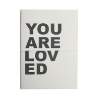you are loved note cards
