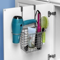 Spectrum Grid Over-the-Door Styling Caddy