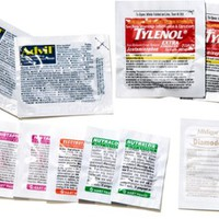 REI First-Aid Medications Refill Kit