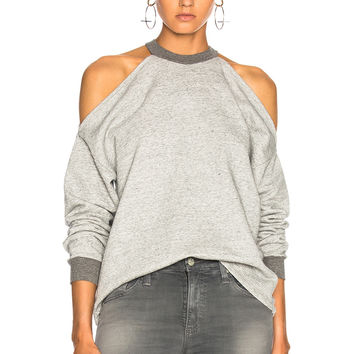 AG Adriano Goldschmied Gizi Sweatshirt in Heather Grey | FWRD