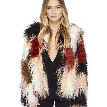 Stella Shaggy Fur Coat