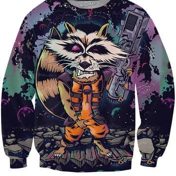 Rocket Raccoon Sweatshirt