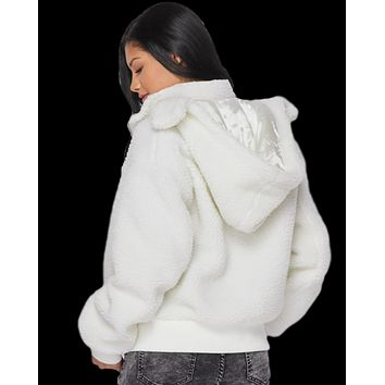 More To Snuggle Teddy Sherpa Jacket
