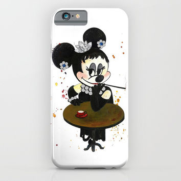 Audrey Hepburn iPhone & iPod Case by MIKART