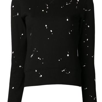 Rag & Bone splatter paint sweatshirt