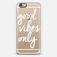 Good Vibes Only iPhone 6 case by I Love Printable | Casetify