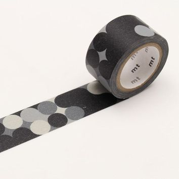 mt fab Washi Tape Single Blackboard Dot