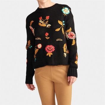 Wildwood Embroidered Sweater