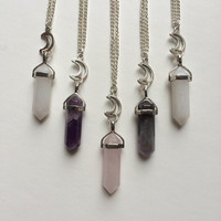 Mystic Moon Chain Necklace