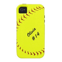 Fastpitch Softball iPhone 4 Case