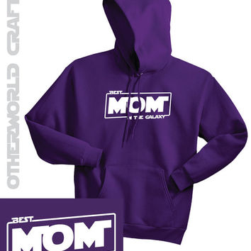 Ladies Hoodie - Best Mom in the Galaxy - Star Wars