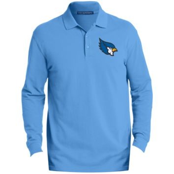 High Point Men's EZCotton™ LS Polo
