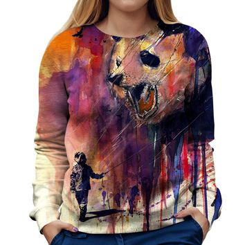 Out To Play Womens Sweatshirt