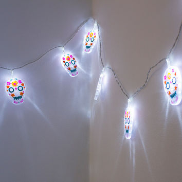 Sugar Skull String Lights | FIREBOX