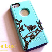 OTTERBOX iphone 5c case, case cover iphone 5c otterbox ,iphone 5c otterboxglitter case,otterboxiPhone 5c,glitter otterbox,bird otterbox case