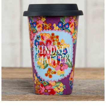 Natural Life Thermal Mug - Kindness Matters