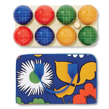 Marimekko For Target 10 Piece Bocce Set