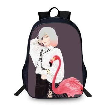 Anime Backpack School BAOBEIKU New Arrival 3D Backpacks kawaii cute illustrations Pattern Fashion Children SchoolBags For Girls Boys Men Book Bag Kids Bags AT_60_4