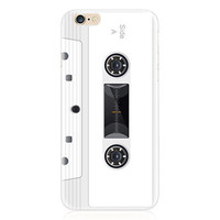 Tape Cassette White Phone Case For iPhone 7 7Plus 6 6s Plus 5 5s SE