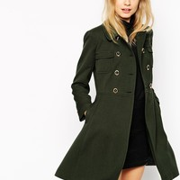 ASOS Coat With 60s Styling