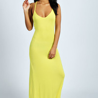 Tilly Strappy Back Detail Maxi Dress