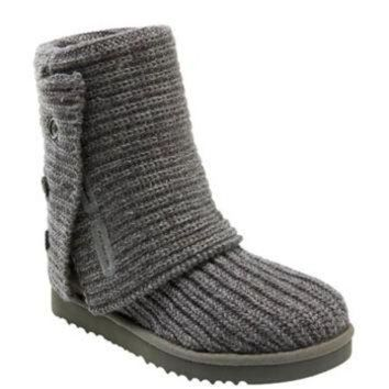 CHEN1ER UGG? Australia 'Cardy' Classic Knit Boot (Women) | Nordstrom