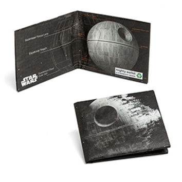 Death Star Schematics Mighty Wallet