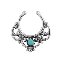 Swirling Faux Septum Ring