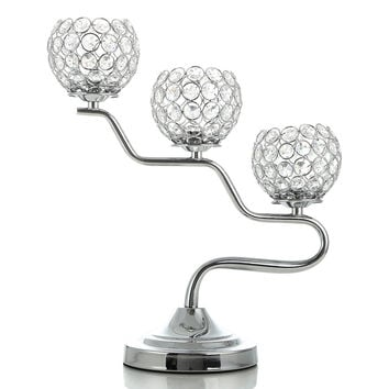 Morocco Crystal Candle Holders Lanterns for wedding decoration