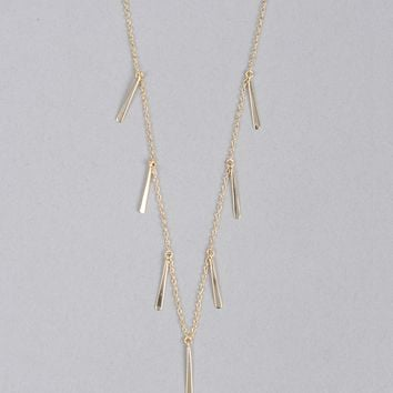 Armitage Avenue Fringe Pendant Necklace