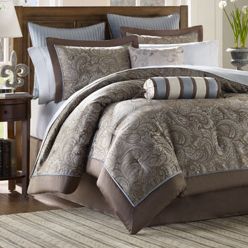Madison Park Aubrey 12 Piece Comforter Set