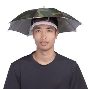 Outdoor Activities Cap Umbrella