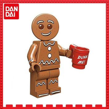HOT Toy story Gingerbread Man Christmas compatible with LEGOINGLYS Building BlockS Bricks Figures Toys Kids Children Gifts