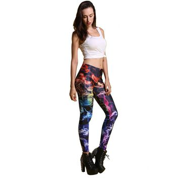 Artsy Push Up High Waisted Leggings