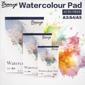 Watercolor Sketching Pad A4 A5
