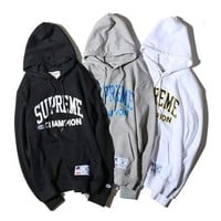SUPREME Winter Hoodies Pullover Hats
