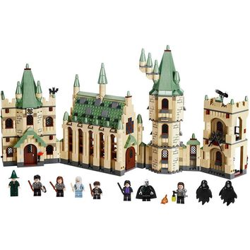 LEPIN 16030 1340pcs Movie Series Harry Potter Hogwart's Castle Model Building Blocks Bricks Kit - Plastic Bag Packaged