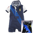 Summer Baby-Toddler Polo Romper