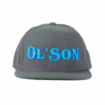 Dale Brisby Rodeo Time Ol Son Dark Heather Snapback