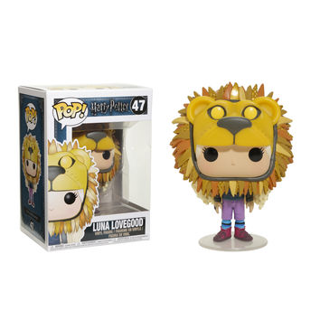 Funko Harry Potter Pop! Luna Lovegood (Lion Hat) Vinyl Figure