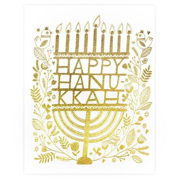 Hanukkah Candles Cards Boxed