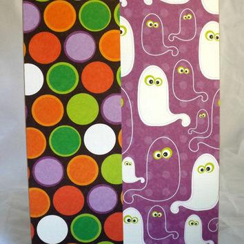 Halloween Card Ghost Card Cards for Kids Hand Made Card Handmade Halloween Card Kraft Paper Card Halloween Not So Scary Halloween