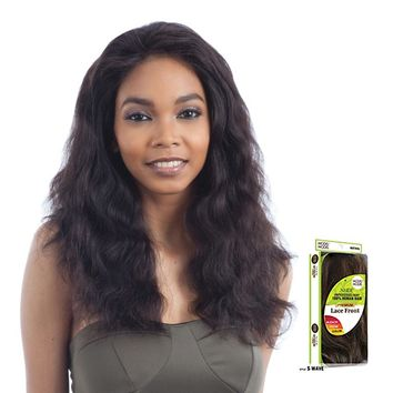 100% BRAZILIAN HUMAN HAIR LACE FRONT WIG S - WAVE