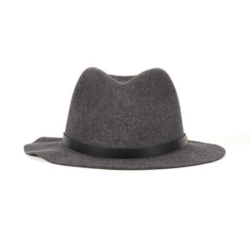 Rag & Bone - Abbott Fedora in Charcoal