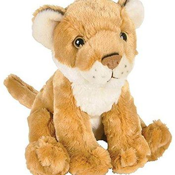 "Wildlife Tree 8"" Cougar or African Lioness Lion Cub Stuffed Animal Plush Floppy Zoo Animal Den Collection"