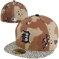 New Era Detroit Tigers Camo Hooked 59FIFTY Fitted Hat - Camo