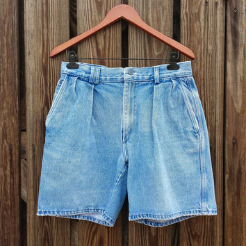 Vintage Men's RALPH LAUREN Polo Country Jean Shorts - Made in USA - Size Small